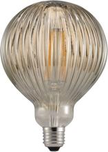 Nordlux Avra Deko Stripe Ø125 mm LED 2W/822 (15W) E27 - Rökfärgad