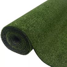 vidaXL Konstgräsmatta 0,5x5 m/7-9 mm grön