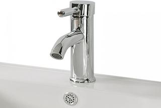 Tvättställsblandare silver 1-grepp RUSUMO