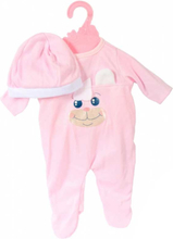 Baby Rose Dockkläder Kanin Body
