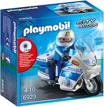Playmobil City Action 6923, Poliscykel med LED-ljus