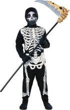 Skelett - maskeraddräkt barn budget