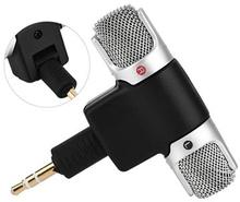 Mini Transportabel Mikrofon til Smartphones og Tablets - 3.5mm