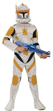 Clone Trooper commander maskeraddräkt