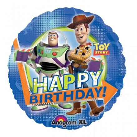 Folieballong - Toy Story Happy Birthday! 45 cm