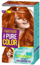 Schwarzkopf Pure Color Hårfärg 7.7 Red Ginger