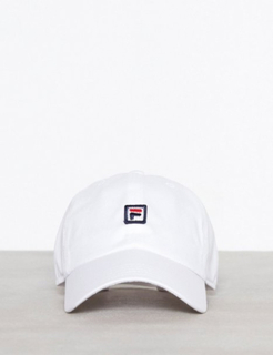 Fila Dad Cap Strap Back Capser Bright White