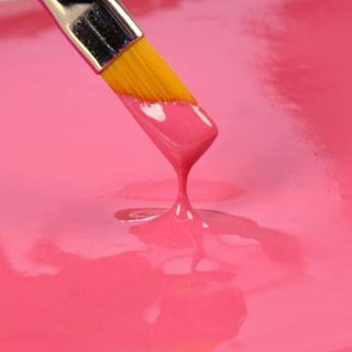 Spiselig maling, pink