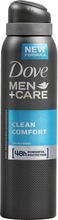 Dove Men +Care Clean Comfort Deospray 150 ml