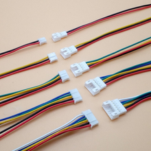 10Pair Micro JST PH 2.0 2P 3P 4P 5P 6PIN Male Female Plug Connector With Wire Cables 100mm