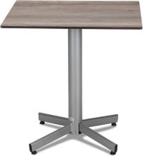 Classic cafébord Silver med laminatskiva 60x70 cm