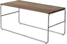 Soffbord L110 Teak/Varmförzinkad 110x50 cm