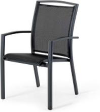 Strix stapelstol svart