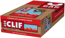 CLIF Bar Energy Bar Box 12 x 68g Chocolate Almond Fudge 2020 Näringstillskott & Paket