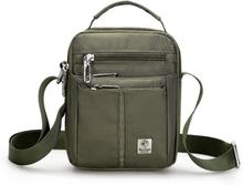 Waterproof Nylon Small Flap Messenger bag For Men Black Casual Shoulder Bags Men's Satchel England Style Side Bags For Mens