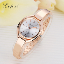 Lvpai Brand Luxury Women Bracelet Watches Fashion Women Dress Wristwatch Ladies Quartz Sport Rose Gold Watch Dropshiping