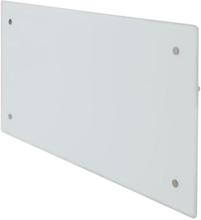 Glamox H60 H El-radiator med WiFi, 400W, Hvit - 6 m²