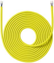 Nielsen Light tygledning 2x0,75 mm², 4 meter, gul