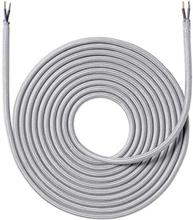Nielsen Light tygledning 2x0,75 mm², 4 meter, silver