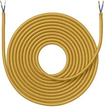 Nielsen Light tygledning 2x0,75 mm², 4 meter, curry
