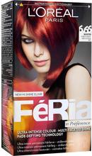 Osta Féria by Préférence, 6.66 Very Intense Red L'Oréal Paris Hiusvärit edullisesti