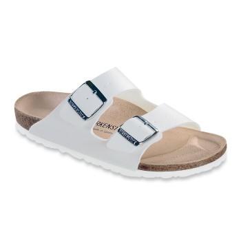 Birkenstock Arizona White Birkoflor Soft Footbed * Gratis Fragt * * Kampagne *
