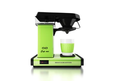 Moccamaster Cup-One Green. 6 stk. på lager