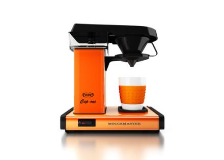 Moccamaster Cup-One Orange. 2 stk. på lager