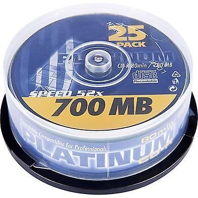 Tom CD-R 80 700 MB Platinum 102565 25 computer(e)