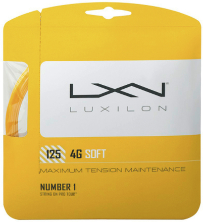 Luxilon 4G Soft Saitenset 12,2m 1.25