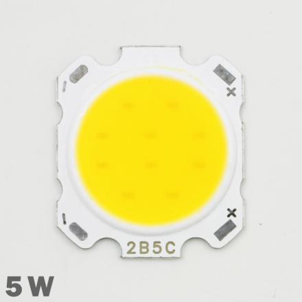 10pcs LED COB Lamp Chip 5W 300-350lm DC 15-18V 28mm-20mm Chip Size Cold/Warm White For DIY LED Floodlight Spotlight Bulb Lamp