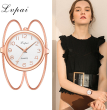 Women Fashion Luxury Watch Bracelet Quartz Dress Watches Rose Gold Small And Exquisite Lvpai Brand Ladies Casual Clock LP353