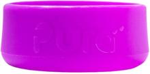 Pura Kiki - Bodenschutz (Bumper) für 150ml & 250ml & 325ml Flaschen - (je 1 Stück) - Lila