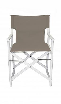 Rozkładane krzesło Broks - szare