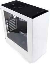 elvbyg Gaming Stationær NZXT S340 3,40GHz 250GB SSD + 1TB HDD 16GB RAM Hvid
