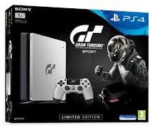 PlayStation 4 Slim - Gran Turismo Sport Special Edition 1TB Sort/Sølv