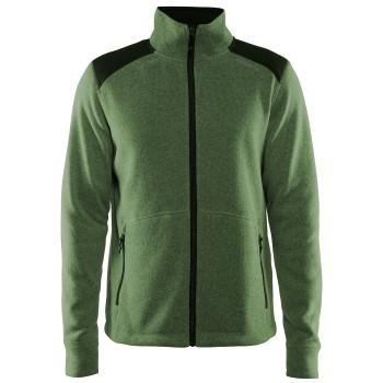 Craft Noble Zip Jacket Heavy Knit Fleece Men * Ilmainen Toimitus *