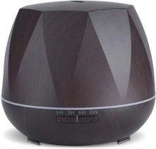 eStore Luftfuktare - Åttakantig och Mörkt trä