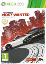 Need for Speed Most Wanted - Microsoft Xbox 360 - Racing
