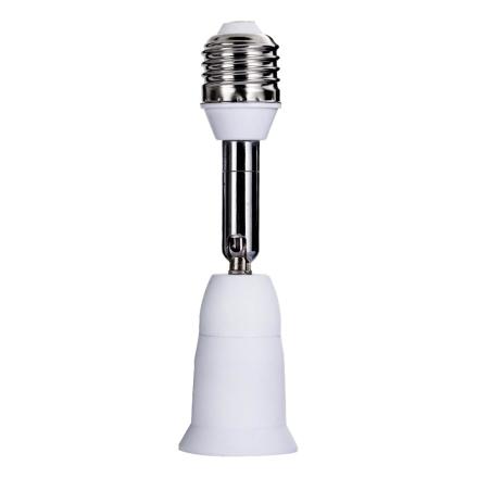 E27 to E27 Flexible Extend Extension Base LED Light Lamp Adapter Converter Socket Lighting Accessories