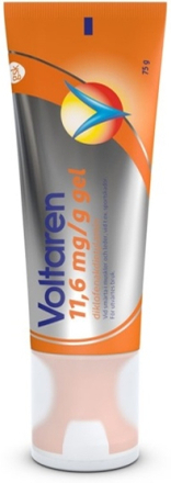 Voltaren gel 11,6 mg/g 75 g