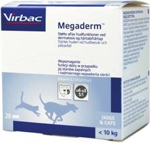 Virbac Megaderm för hund och katt under 10 kg 28 st à 4 ml
