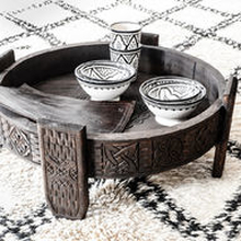 Marokkolainen Chakki pöytä | tummanruskea