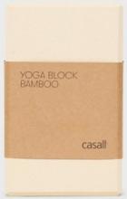 Casall Yoga Block Bamboo
