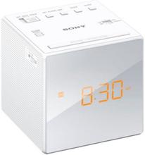 Clockradio Sony ICFC1W Hvid