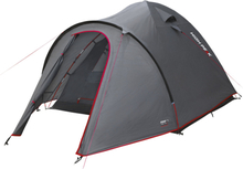 High Peak Nevada 5 Tent Dark Grey/Red 2019 Campingtält