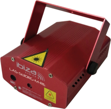Ibiza Mini Firefly Laser - Röd