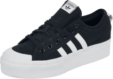 Adidas - Nizza Platform W -Sneakers - svart, hvit