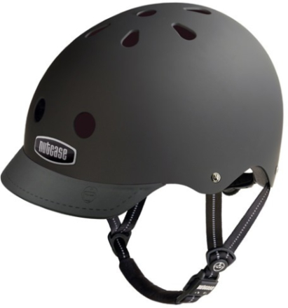 Nutcase Super Solids GEN3 Hjelm - Blackish