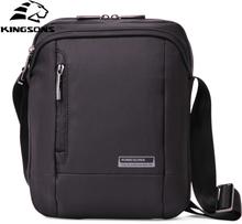 Kingsons Men's Messenger Bags Waterproof Men's School Business Carrying Handle Bag 9.7 inches Fashion Shoulder Crossbody Bags